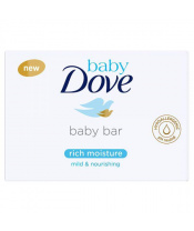 BABY DOVE Krémová tableta na mytí, 75 g