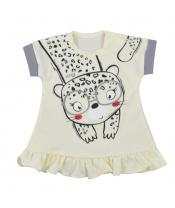 Kojenecké letní šaty Koala Sara béžové