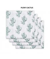 Jollein bavlněné pleny s potiskem 4ks, Cactus