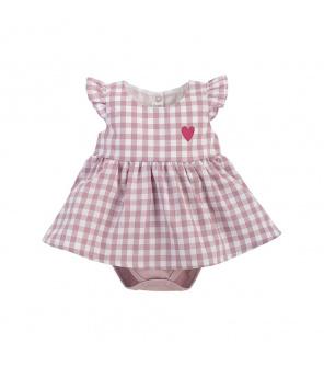 PINOKIO Šaty body Pink Sweet cherry vel. 68