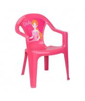 Dětský zahradní nábytek - Plastová židle růžová Giuly