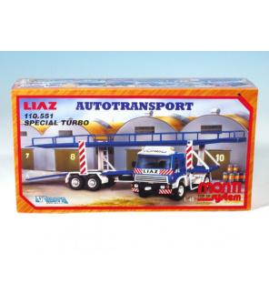 Stavebnice Monti System MS 19 Autotransport Liaz 1:48 v krabici 31,5x16,5x7,5cm