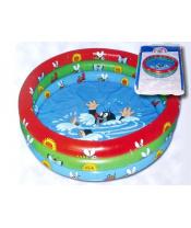 Bazén Krtek nafukovací 122x20cm v krabici 1-3 roky