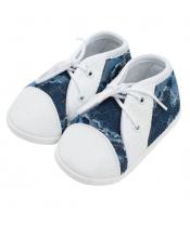 Kojenecké capáčky tenisky New Baby modré 0-3 m