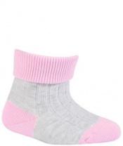 WOLA Ponožky kojenecké bavlněné neutral Pink pearl 15-17