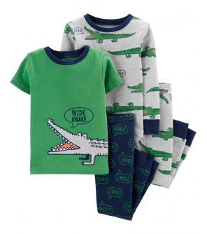 CARTER'S Pyžamo krátký a dlouhý rukáv Aligator chlapec 2ks 12m