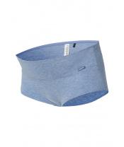 NOPPIES Kalhotky Cotton L Melange Blue