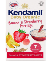 KENDAMIL Kaše nemléčná Bio/organická banán a jahoda 150 g