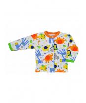 Kojenecký kabátek Bobas Fashion Zoo oranžový
