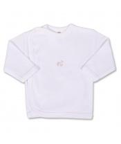 Kojenecká košilka s vyšívaným obrázkem New Baby bílá