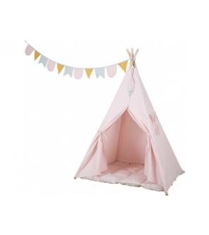 Tiamo Little Dutch Dětský stan pink – Teepee