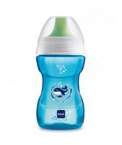 MAM Hrnek na učení Fun to drink cup Deep sea 270 ml, 8+ m modrý