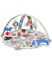 SKIP HOP Deka na hraní hudební, svítící, 4 hračky Vibrant Village 0m+