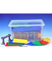 Kid Cars mosty a silnice 14,2m v plastovém boxu 12m+ Wader 59x35x39cm