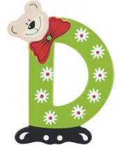 Playshoes dřevěné písmenko D