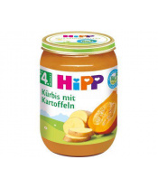 Příkrm zeleninový BIO Dýně s bramborami 190g Hipp
