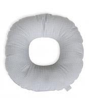 CEBA Polštář poporodní kruh Malé Tečky bílo-šedé