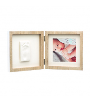 Baby Art Square Frame Wooden