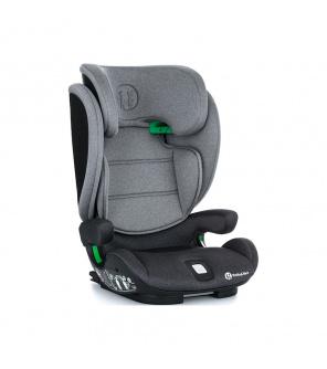 PETITE&MARS Autosedačka Elite Fix i-size 100-150 cm Misty Grey