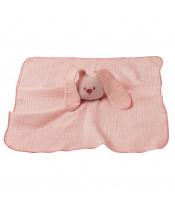 Hračka mazlíček bavlněný Lapidou old pink 44x44 cm