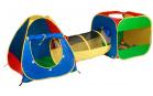 ZOPA Domeček s míčky s tunelem
