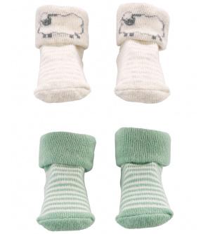 CARTER'S Ponožky Lamb neutrál LBB 2ks NB, vel. 56