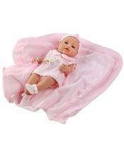 Luxusní dětská panenka-miminko Berbesa Ema 39cm (poškozený obal)