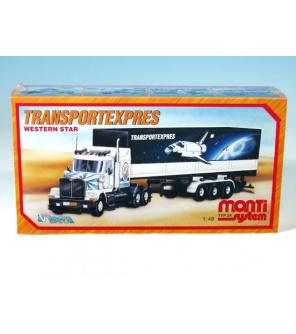 Stavebnice Monti System MS 24 Transport Expres Western star 1:48 v krabici 32x20x7,5cm