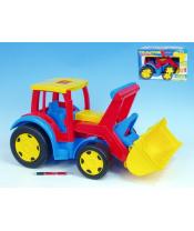 Auto/Traktor Gigant nakladač plast 55cm v krabici Wader