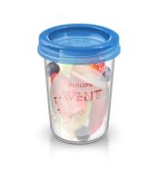 Avent VIA pohárky s víčkem 240ml - 5 ks