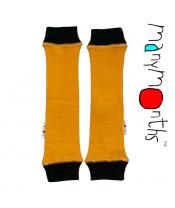 Manymonths wool tube žluté/černý lem