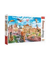 Puzzle Legrační města - Divoký Řím 1000 dílků 68,3x48cm v krabici 40x27x6cm