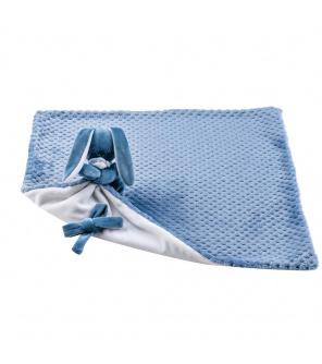 NATTOU Deka plyšová s mazlíčkem Lapidou blue pineapple + white 50cm x 50cm