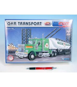 Stavebnice Monti 68 GKR Transport Western star 1:48 v krabici 32x20,5x7,5cm