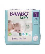 BAMBO Nature Jednorázové pleny 1, 22 ks, 2-4 kg
