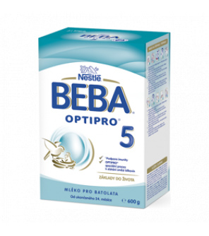 BEBA 5 OPTIPRO, Mléko kojenecké 600 g