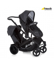 Hauck Duett 3 2020 melange charcoal
