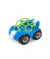 Hračka autíčko Rattle & Roll Oball™ modro/zelené 3m+