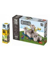 Pack Stavějte z cihel Pevnost stavebnice Brick Trick + lepidlo grátis v krabici 35x25x7cm