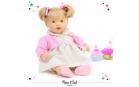 Nines 38010 Mrkací panenka s vlásky NINES Claudia