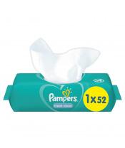 PAMPERS Fresh Clean 52 ks - vlhčené ubrousky