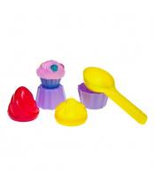 Hračky na písek Bayo zmrzlina 5 ks