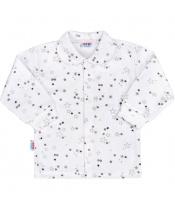 Kojenecký kabátek New Baby Magic Star šedý