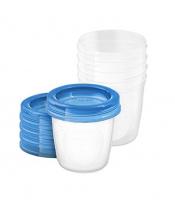 Avent VIA pohárky s víčkem 180ml - 5 ks