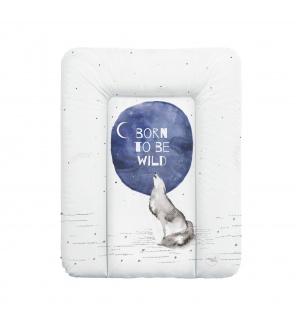 CEBA Podložka přebalovací na komodu 70x50 cm Watercolor World Born to be wild