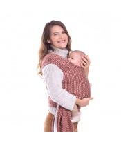 BOBA Nosítko dětí / šátek Wrap Print Hali