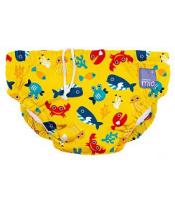 BAMBINO MIO Kalhotkové pleny koupací Deep Sea Yellow vel.M (7-9 kg)