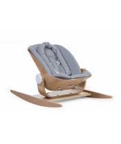 Podložka do houpacího lehátka Wood Rock Jersey Grey