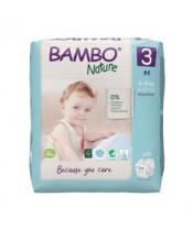 BAMBO Nature Jednorázové pleny 3, 28 ks, 4-8 kg