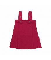 Manymonths merino šaty červené
